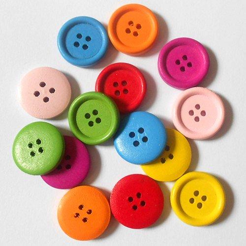 Wholesale-420PCS-Lots-Mixed-Round-4-Holes-Wooden-Sewing-Buttons-Scrapbookings-Applique-20mm-Clothes-Parts-garment