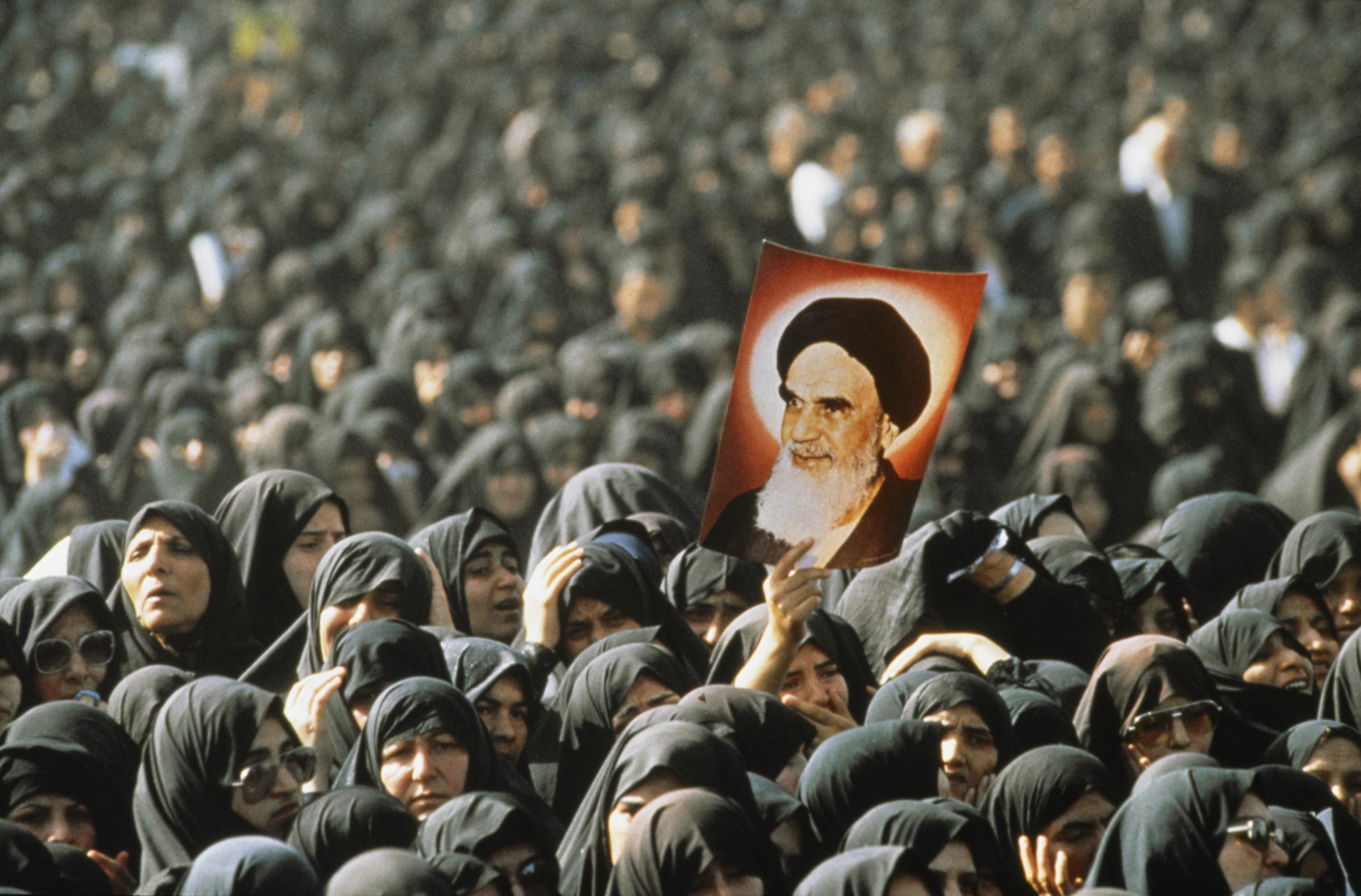عکس های رحلت امام خمینی